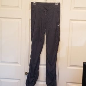 Lululemon Athletica Grey Studio Dance Pants